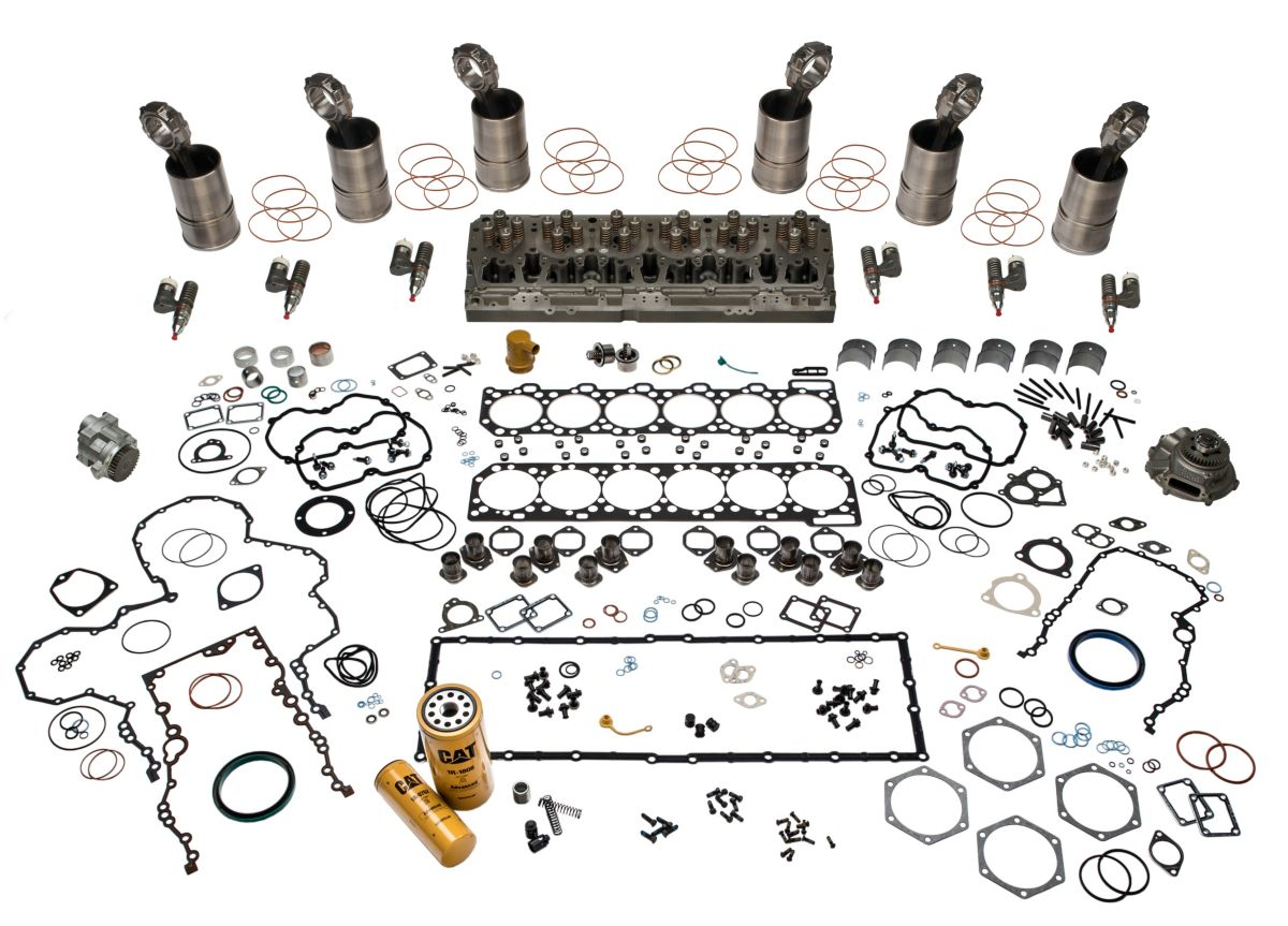 cat c15 platinum engine rebuild kits Cat 6NZ Engines Are Good 20r 3286 kit eng over