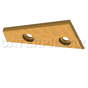 319-4097: Top Mounted Wear Plate Edge Protection