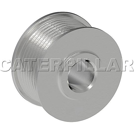 123-0858: Pulley-Alternator