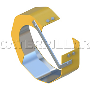 165-6670: Turbocharger Cartridge Shield Assembly