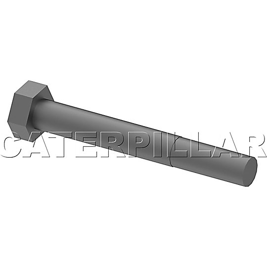 209-3750: Hex Head Bolts, Zinc Flake