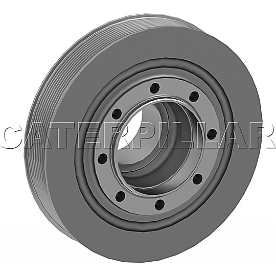 271-5594: Pulley-Crankshaft