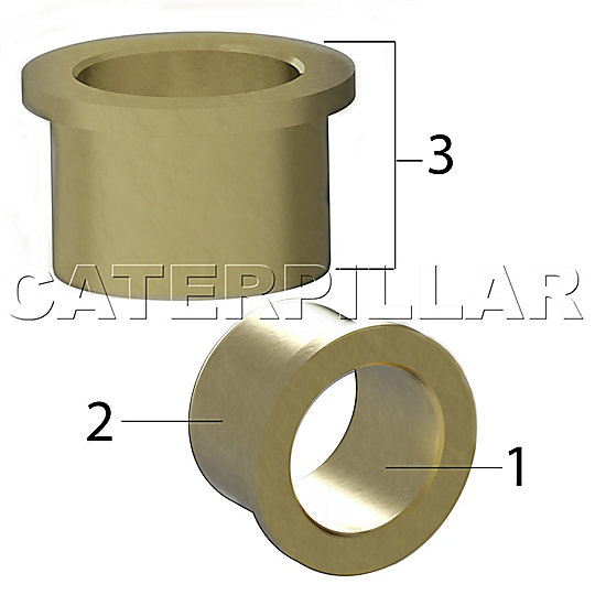 8X-6730: Bearing-Sleeve