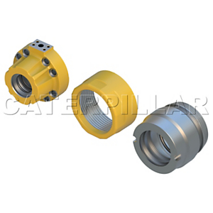 177-5398: Hydraulic Cylinder Cap Assembly