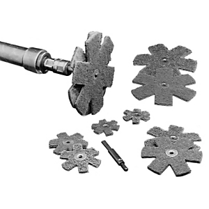 4C-8624: Estrellas de limpieza y pulimentado de óxido de aluminio