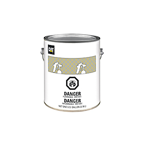 9U-7731: Black Paint, Medium Gloss Water Reducible 2.8 VOC