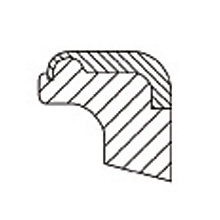 167-2502 Press-In Wiper Seal