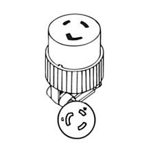 9U-6372 2 Pole, 3 Wire, Grounded NEMA L5-20