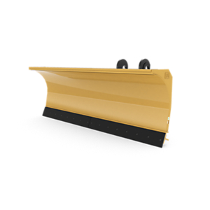 3 m (10 ft) Snow Plow for Small Wheel Loaders