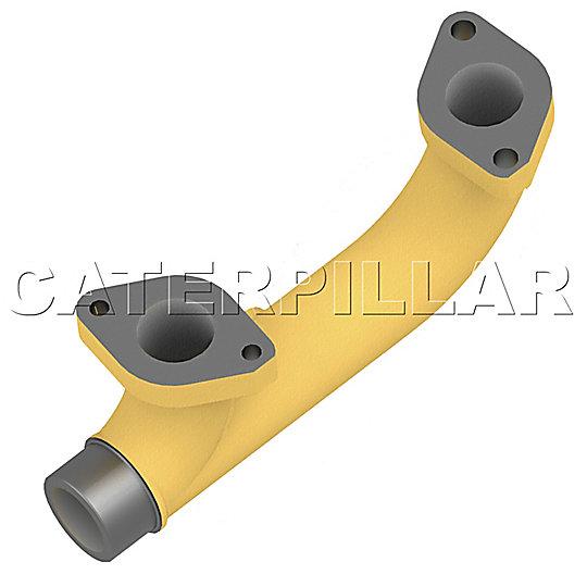 4P-8280: Manifold-Exhaust