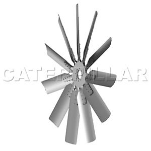 110-2735: 风扇十字轴组件