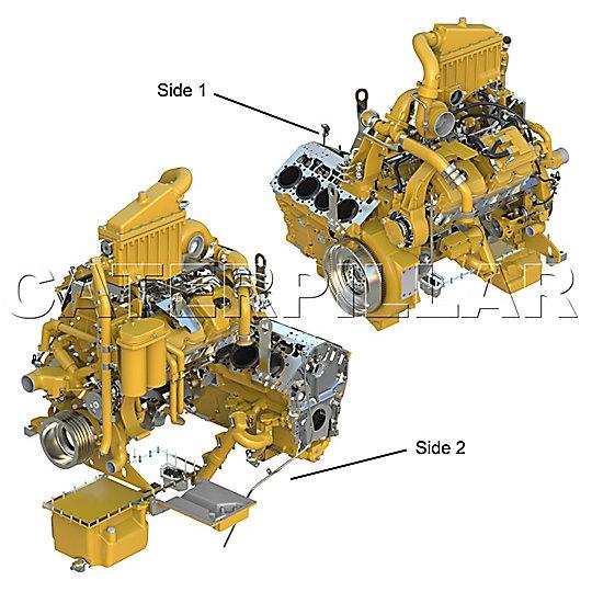 163-5784: BAUGR. MOTOR 3400