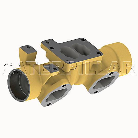 375-8480: Manifold-Exhaust