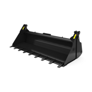 426-6985: 2134 mm (84 in) Multi-Purpose Bucket with bolt-on teeth