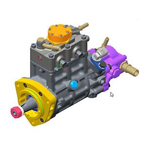 324-0532: 燃油泵总成