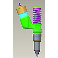 249-0713: Grupo de inyectores: combustible
