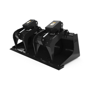 157-7227: 1676 mm (66 in) Industrial Grapple Bucket with bolt-on cutting edge