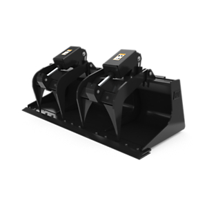 158-6095: 1829 mm (72 in) Industrial Grapple Bucket with bolt-on cutting edge
