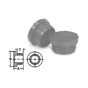 9U-7138: Metric Threaded Plug Protectors