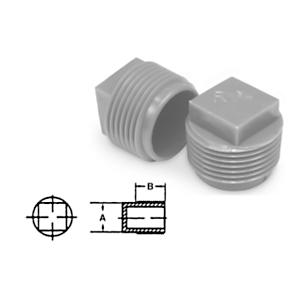 9U-7101: Protectores de tapones para rosca NPT: cabeza cuadrada