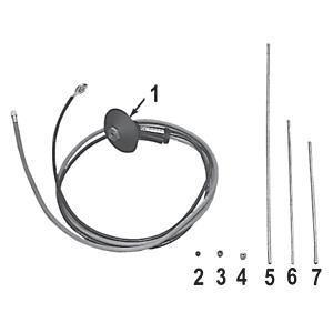 9U-5615: Tuerca de boquilla: latón