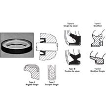 Cylinder Seals - Press-In Wiper Seals