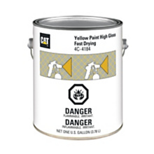 4C-4184 Yellow Paint, High Gloss Fast Drying