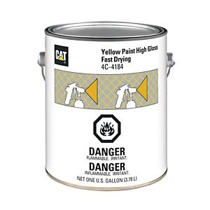 4C-4184: Yellow Paint, High Gloss Fast Drying