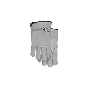 282-9529: Unlined Grain Leather Driver's Gloves