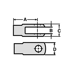 9S-1314: Yoke-Type Rod End