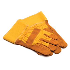 282-9532: Split Cowhide Palm Gloves