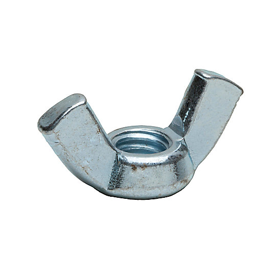 3B-0723: Wing Nuts, Zinc Plated