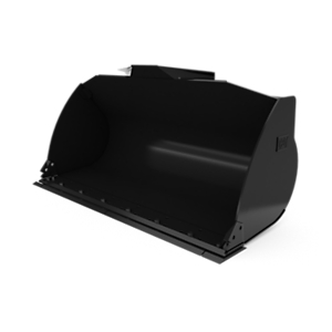 360-3321: 2.1 m3 (2.7 yd3) Fusion™ General Purpose Bucket with bolt-on cutting edge