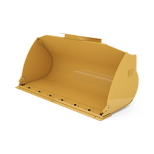 417-4927: 2.7 m3 (3.5 yd3) pin on General Purpose Bucket with bolt-on cutting edge