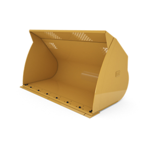417-4350: 5.0 m3 (6.5 yd3) pin on Light Material Bucket with bolt-on cutting edge