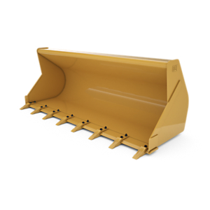 337-7387: 1.0 m3 (1.25 yd3) pin on General Purpose Bucket with bolt-on teeth