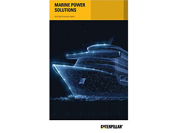 2017 Caterpillar Marine Power Solutions Guide
