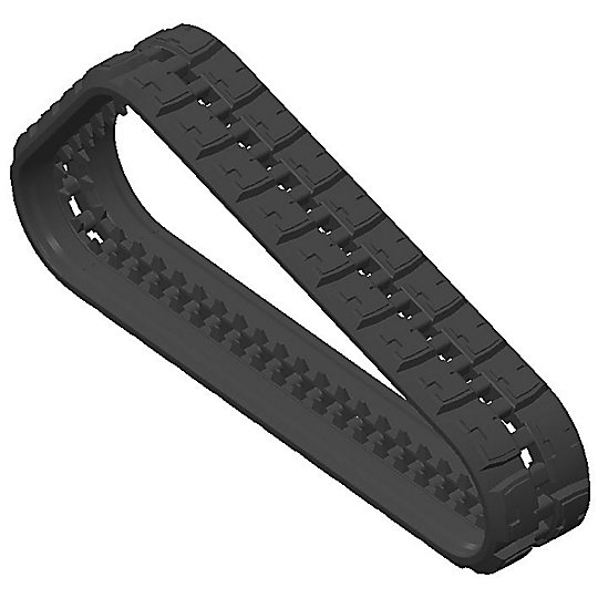 "357-0244: Premium Block Rubber Track - 400 mm (15.7"")"