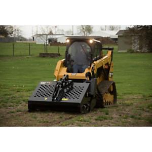 Cat® Landscape Rake on a 259D Compact Track Loader