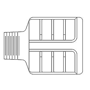 138-2544: Air Starter Muffler