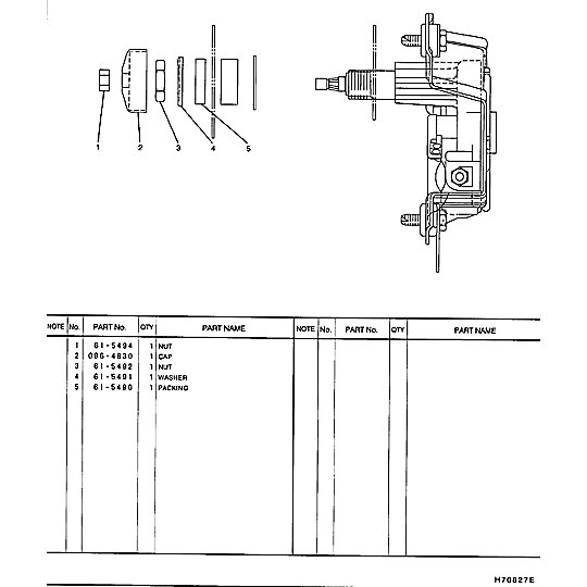 185-9009: Wiper Motor Assembly