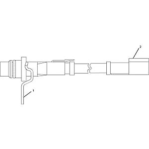 CAT 201-6615 Speed Sensor Caterpillar 966H 988G D10T D11T 777G D7R D8R 972H 345C