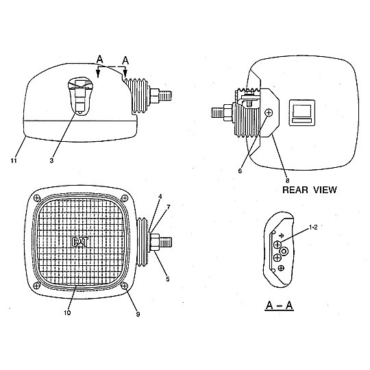 153-2522: Lamp Assembly