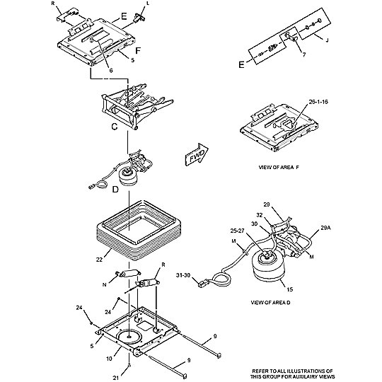 347-8771: Suspension Assembly-Seat