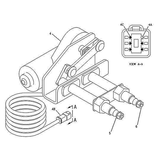 146-6149: Wiper Motor Assembly