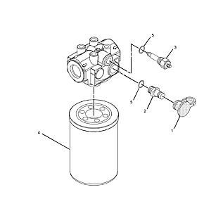 201-2744: Hydraulic/Transmission Filter