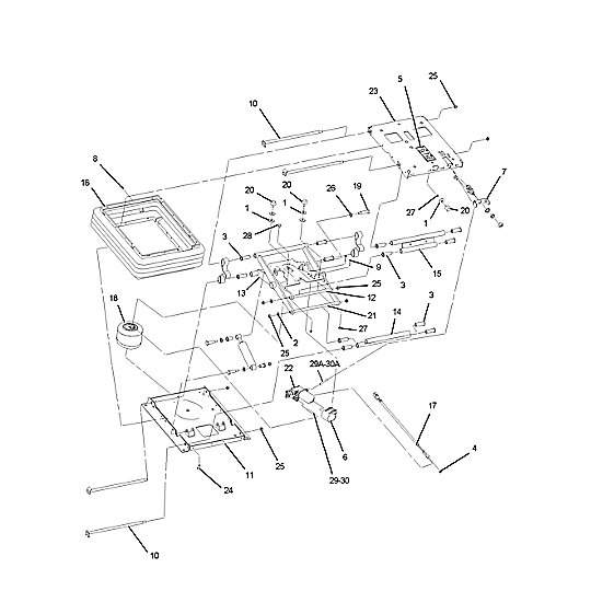 191-4508: Suspension Assembly-Seat