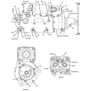 352-9766: MOTOR GP-ELE