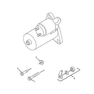 Starter Motor 163-3361 for Caterpillar CAT 3013 3013C 3014 3024 3024C C1.5 C2.2