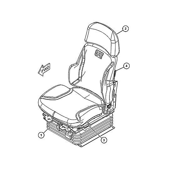 443-8261: Seat Group-Suspension